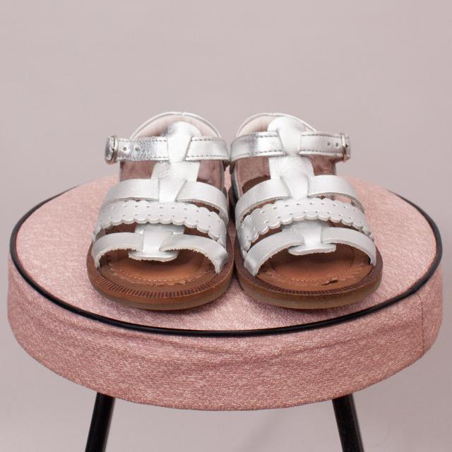 Jacadi Metallic Sandals - EU 21