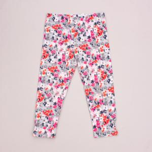 Gymboree 3/4 Floral Leggings