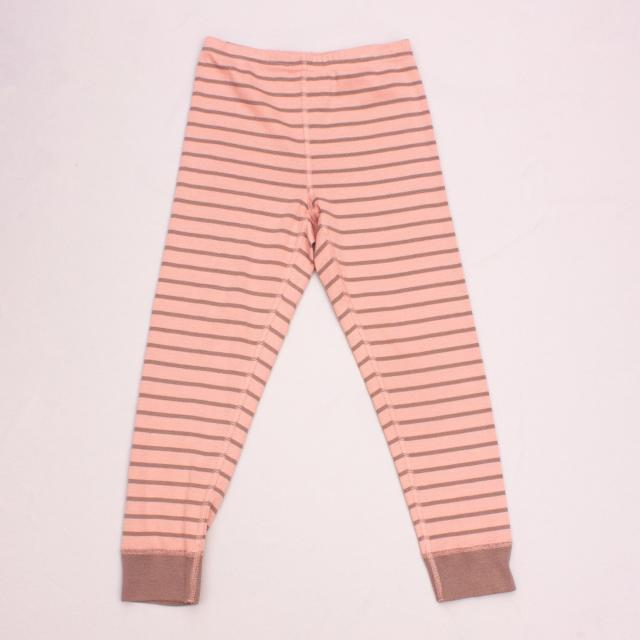 Hanna Anderson Striped Leggings