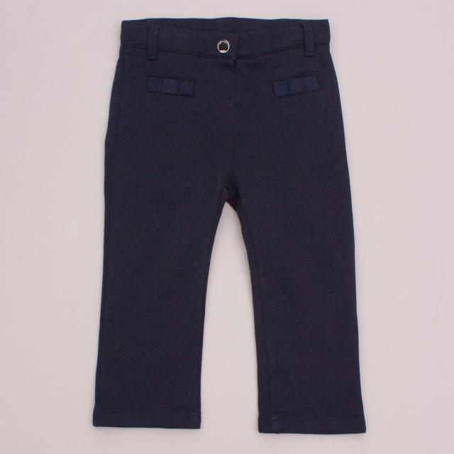 "Jacadi Navy Blue Pants ""Brand New"""