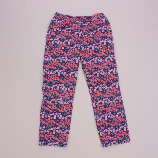 Hanna Anderson Floral Pants
