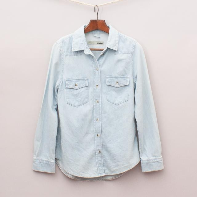 Topshop Chambray Shirt