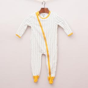 Cotton On White/Mustard Romper