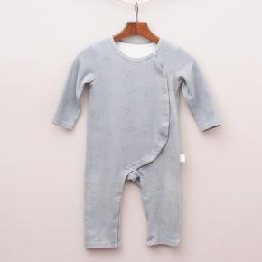 Soda Milk Grey Romper