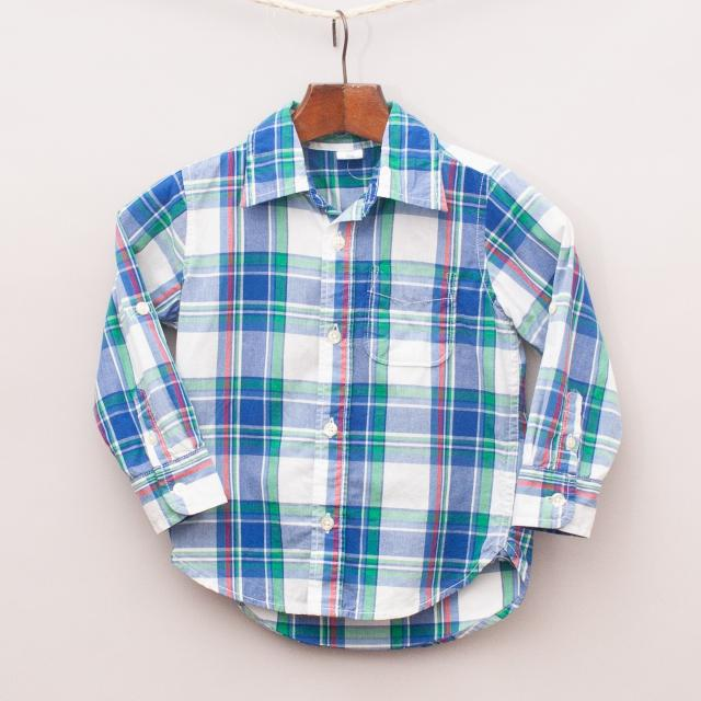 "Gap Plaid Shirt ""Brand New"""