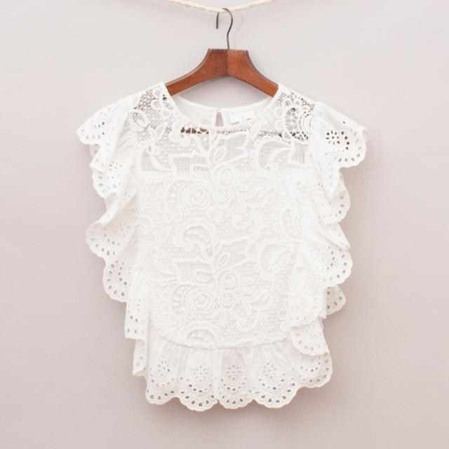 Witchery Lace Top