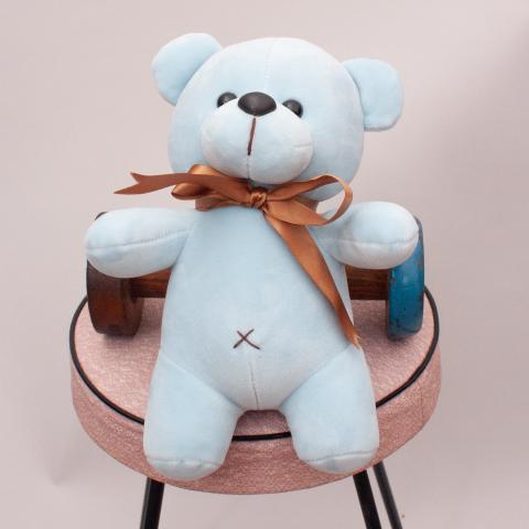Blue Plush Teddy Bear