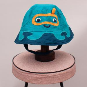 Blue & Teal Bucket Hat