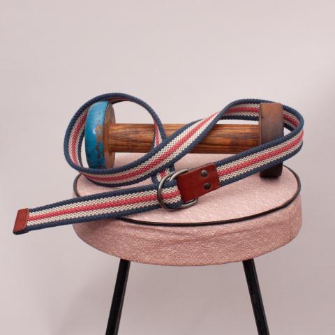 Blue, Red & White Belt