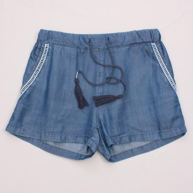 Pavement Blue Shorts