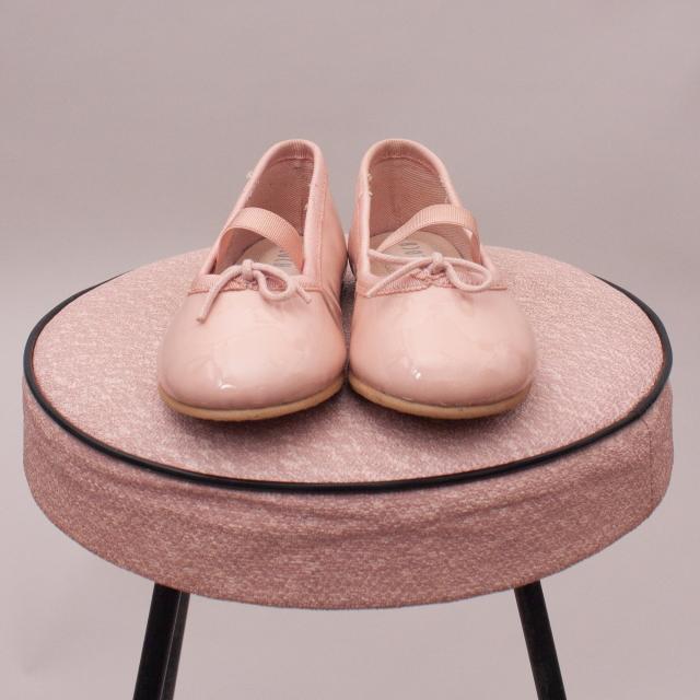 Bloch Patent Ballet Slippers - EU 23