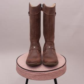 Balducci Tall Leather Boots - EU 24