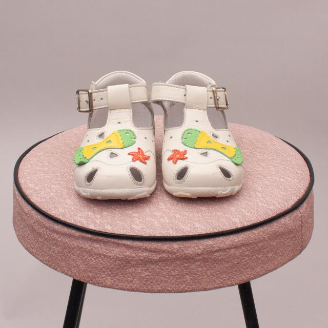 Balducci Leather Sandals - EU 17