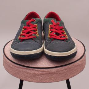 Geox Leather & Suede Lace Ups - EU 31
