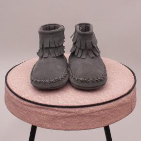 """Seed Fringe Booties - 12-18Mths """"Brand New"""""""