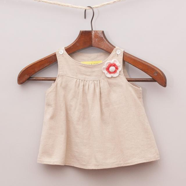 Chalk N Cheese Smock Top