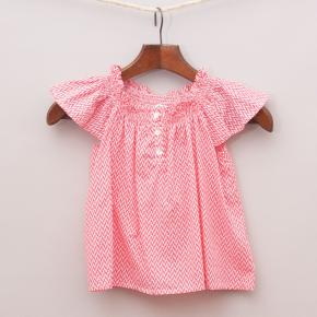 Milky Patterned Smock