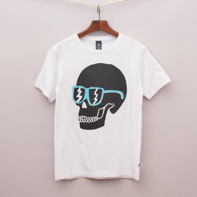 "Littlehorn Scull T-Shirt ""Brand New"""