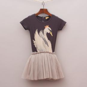 Rock Your Kid Swan Dress