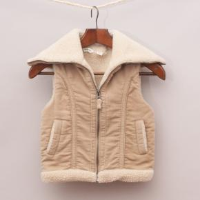 Country Road Shearling-Look Vest