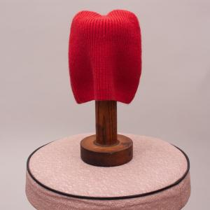 Bebe Red Knit Beanie - XXS