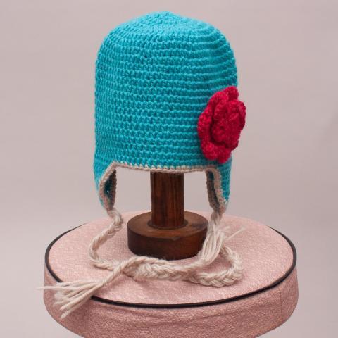 Acorn Knit Beanie - XS