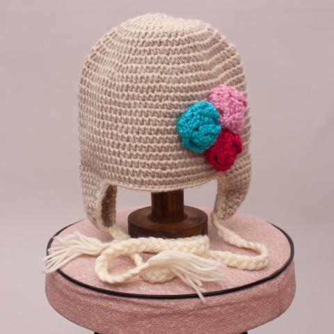 Acorn Knit Beanie - S