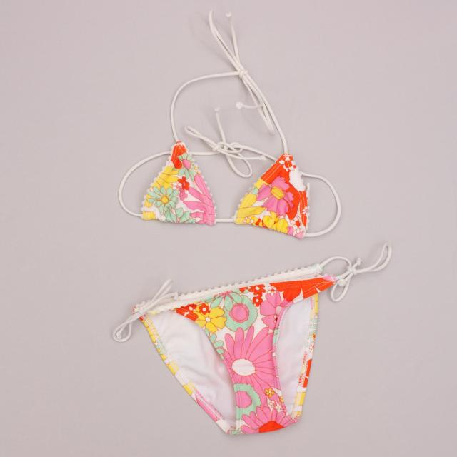Country Road Flower Power Bikini