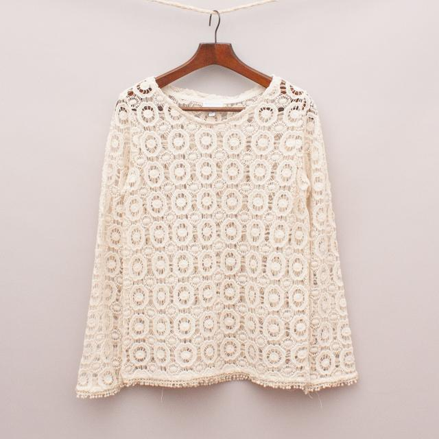 Witchery Crochet Top