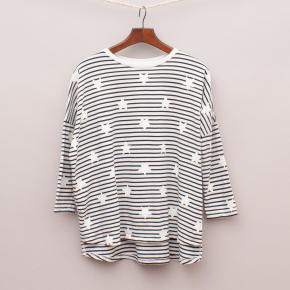 Seed Stripes and Stars Jumper