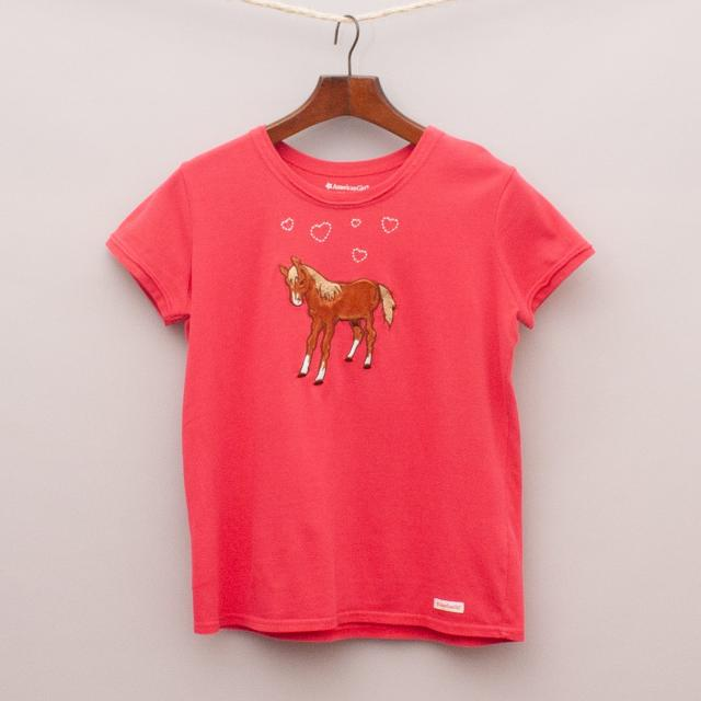 American Girl Horse T-Shirt