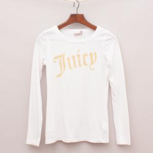 Juicy Couture White Long sleeve