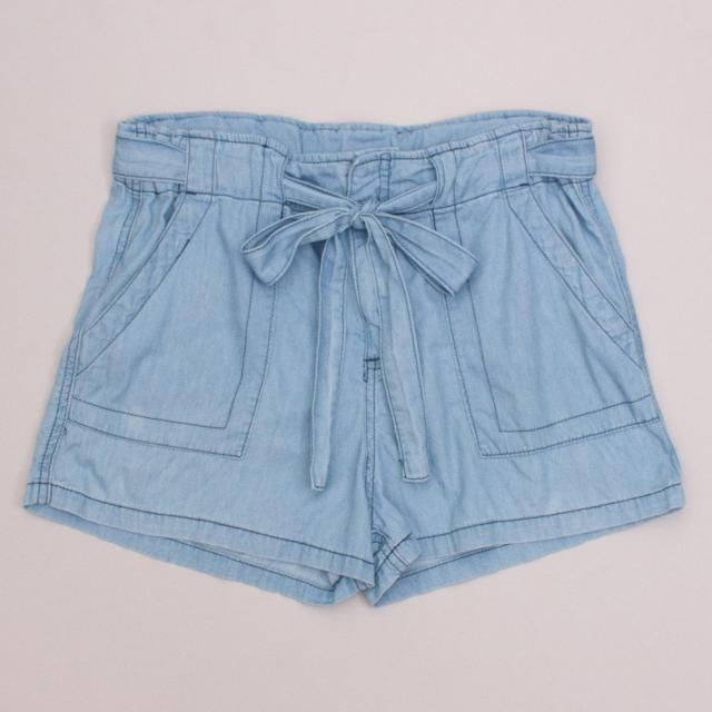 Witchery Chambray Shorts