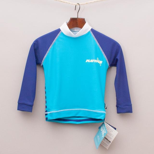 "Platypus Rash Vest ""Brand New"""