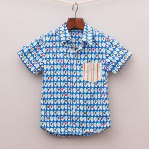Oobi Patterned Shirt