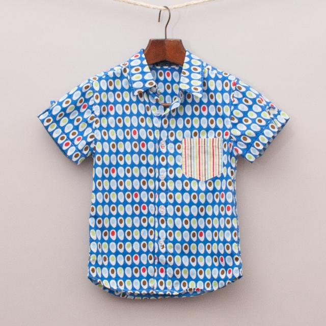 Oobi Patterned Shirt