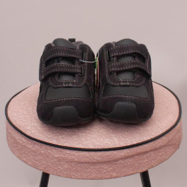 "Pediped Black Leather Sneakers - UK 6.5 ""Brand New"""
