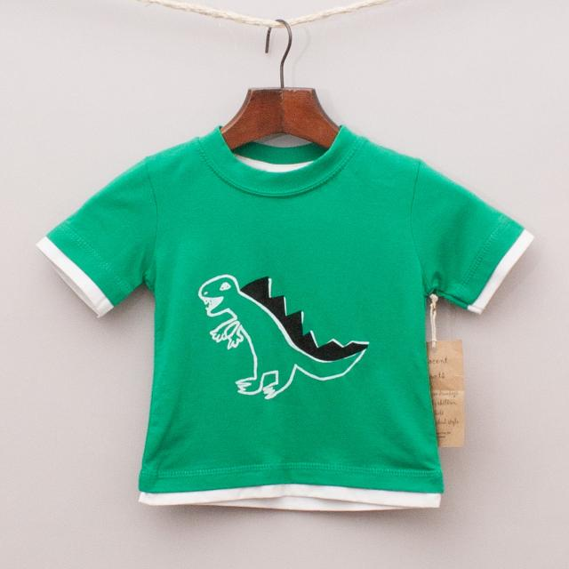 "Innocent Prints Dinosaur T-Shirt ""Brand New"""