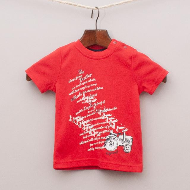 "Esprit Red T-Shirt ""Brand New"""