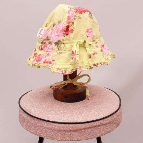 Toshi Floral Hat - XS
