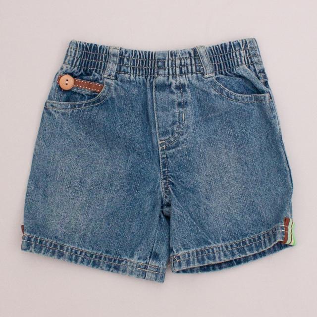 Innocent Prints Denim Shorts