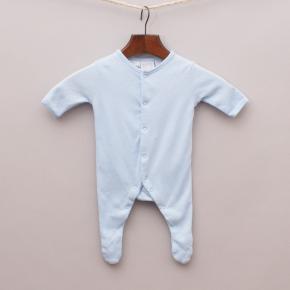 Baby World Blue Romper