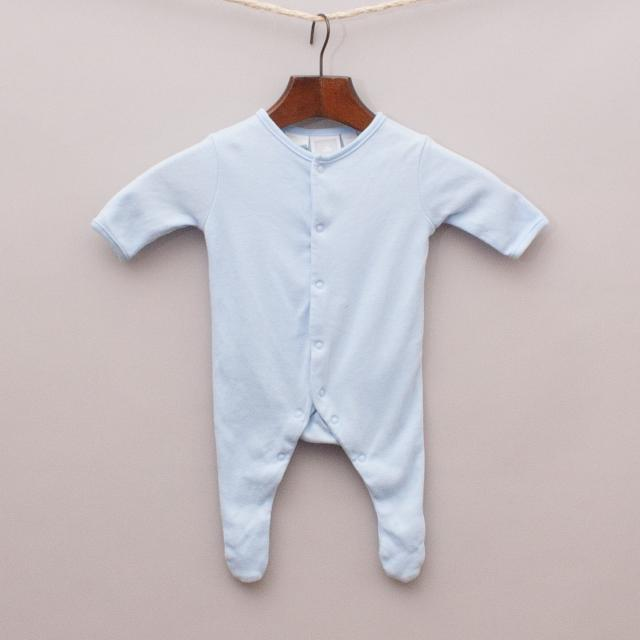 Baby World Blue Romper