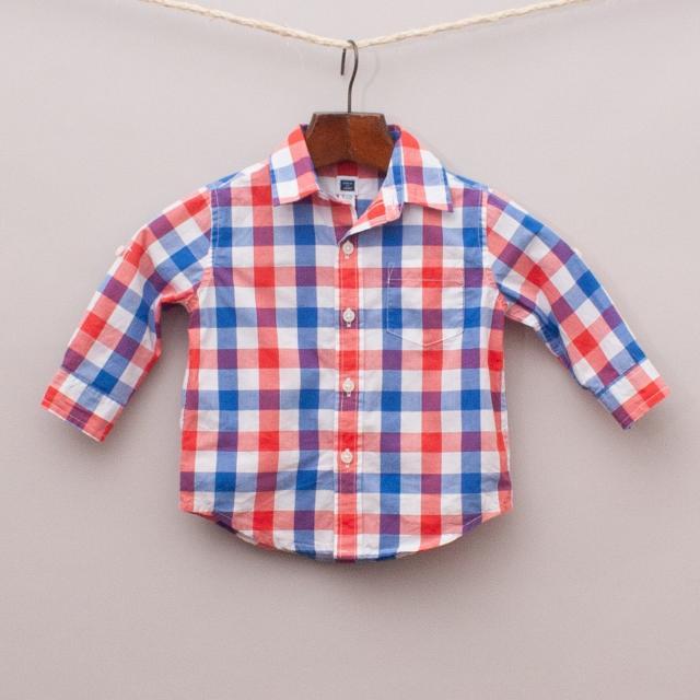 Janie & Jack  Check Shirt