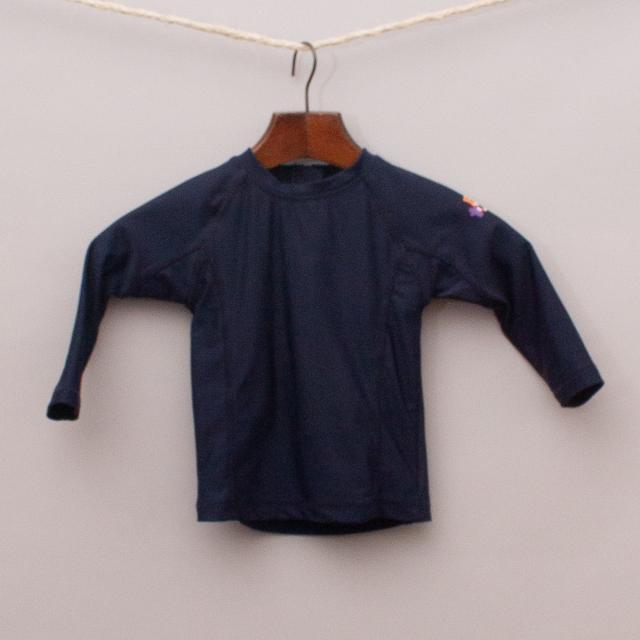 Little Toggs Blue Rash Vest