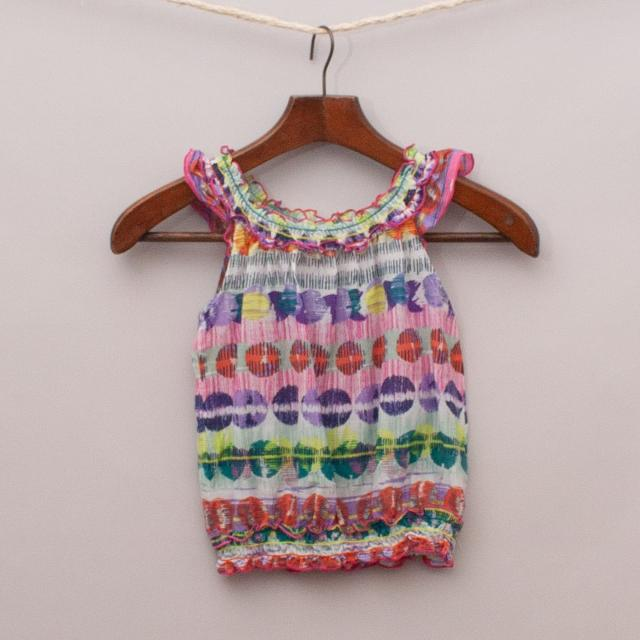 Jack & Milly Patterned Top