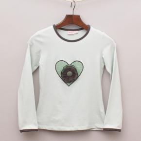 Chino Heart Long Sleeve