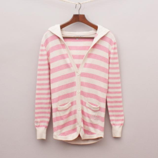 Roxy Striped Cardigan