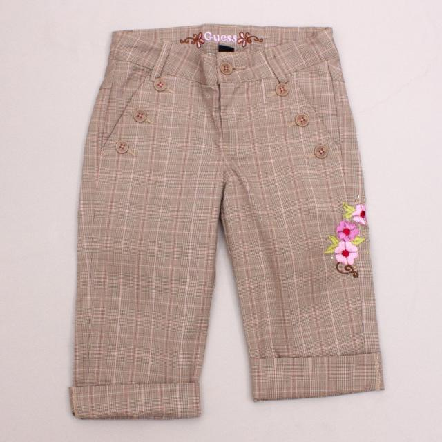 Guess Plaid Pants