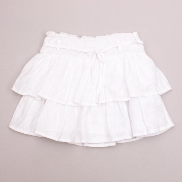 Milkshake White Skirt
